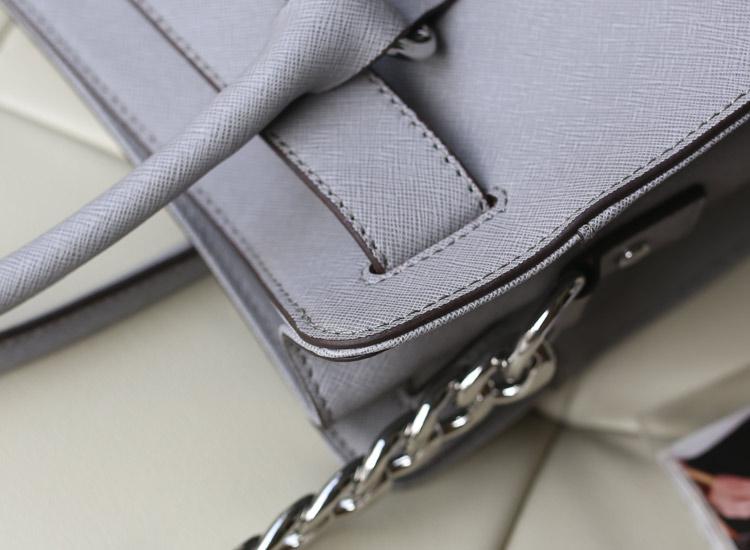厂家直销 MK 2014新款 Hamilton 中号锁头包 原版皮 大象灰