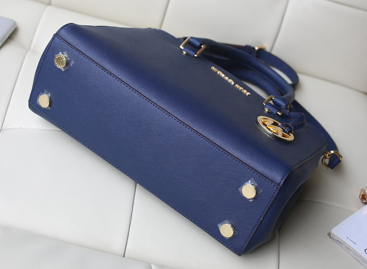 MK dressy/sutton 杀手包 深蓝色出货 原版进口牛皮手提女包